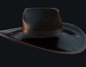 3D asset Cowboy Hat