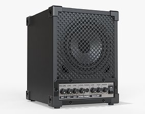 Universal audio monitor 3D model