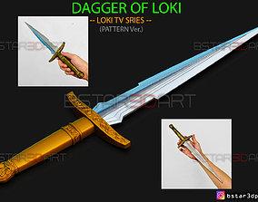 Loki Dagger 2021 - High Quality - 3D printable model 5