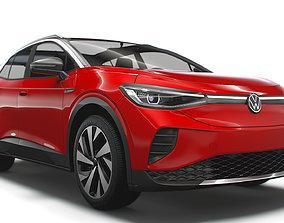3D model Volkswagen ID4 1st 2021