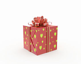 Gift Box 3 3D