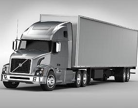 Volvo VNL670 2016 semi 3D model