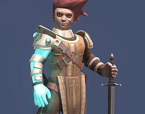 The last warrior 3D model