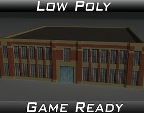 3D model Factory Building 6