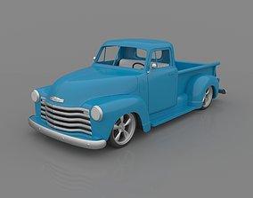 Chevrolet 3100 Pickup 1950 Classic for 3D Printing STL