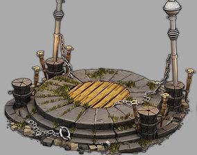 altar 3D religiou-object