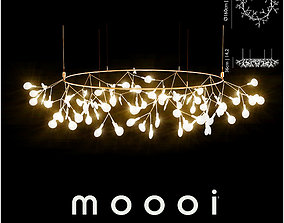 Moooi Heracleum small Big O ceiling 3D model