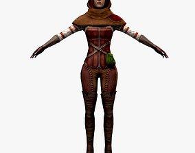 Pirate Assassin 3D model