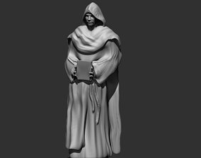The Monk 3D printable model