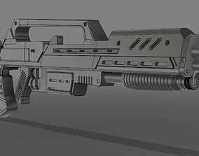 Starship Troopers Morita rifle 3D printable model