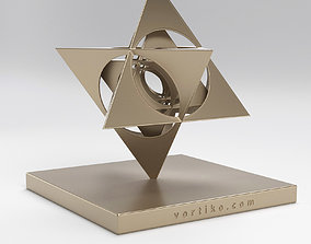 art Star Tetrahedron 3D print model