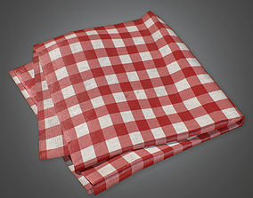 Table Cloth - PBR Game Ready 3D asset