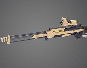 caliber Sniper Rifle 3D