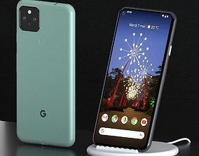Google Pixel 5 3D model