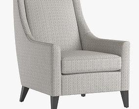 Mitchell Gold Cara Tall Chair 3D model