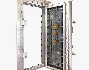 3D York classic vitage vault door