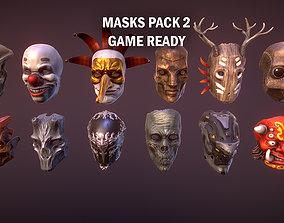 Masks pack 2 3D asset