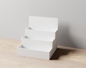 010MT LA Unit Medium 3 Shelves Top Unit 3D printable model