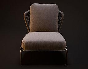 Classic Chair 3D asset