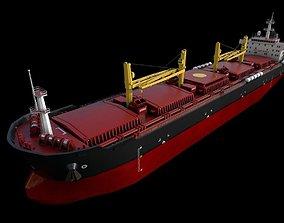 offshore Bulk carrier 3D asset realtime