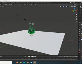 3D asset Steampunk Metal Cogwheels
