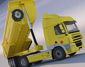 DAF CF85 with tipping Dumper 3D model