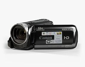 Canon Vixia HF R40 Black 3D asset