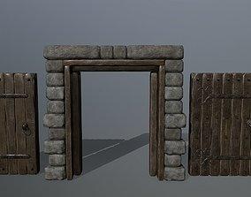 door set 3D asset