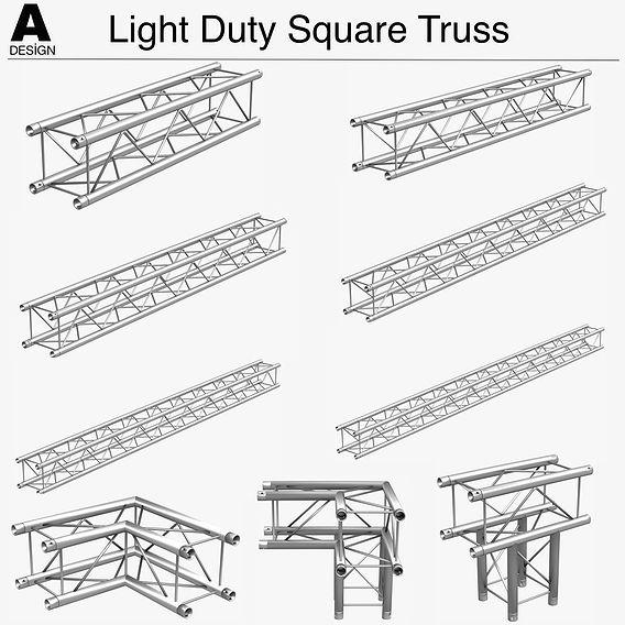 Light Duty Square Truss 006