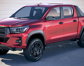 Toyota Hilux Revo Rocco 2018 3D model