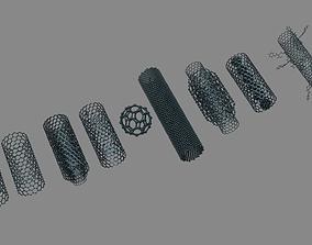 Nanotubes 3D model