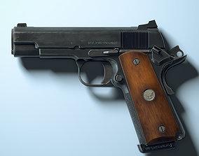 realtime Game ready model Colt M1911 Commander