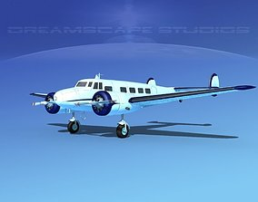 Lockheed L10 Electra Private 4 3D