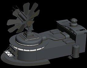 Building 4 3D model city