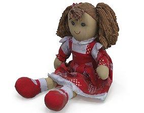 3D model Plush Doll - Medium and High Poly Version