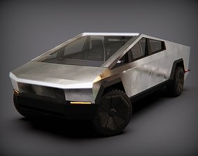 Tesla Cybertuck 3D asset