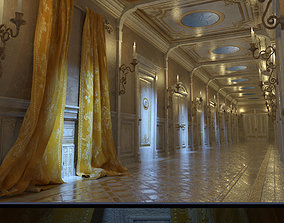 3D To Wonder for A Curious Hallway Iray