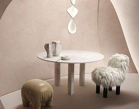 stool 3D BeInspiration 65
