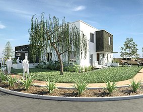 3D model arquigrasspack02- Revit grass with automatic