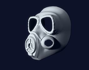 MO4 Gas Mask 3D model low-poly