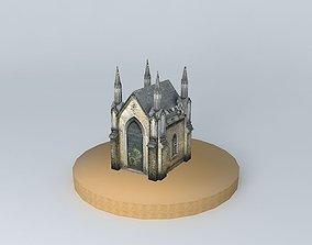 3D Riga crypt Jekaba cemetery