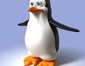 3D Cartoon Penguin