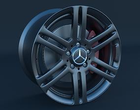 Mercedes Benz Rim and Brake 3D