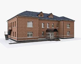 3D model Suburban Administrative Building