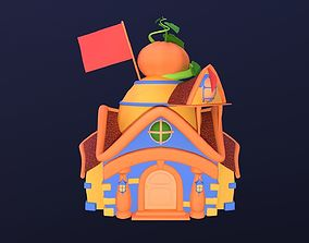 Asset - Cartoons - Background- House 03 - Hight animated