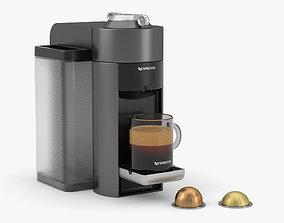 3D model Nespresso Machine