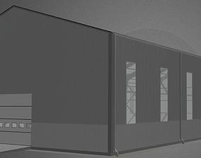 3D Hangar industrial