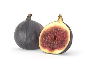 Fig Fruit Photoscan 3D model