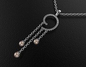 Pearl Pendant Design by 3D printable model
