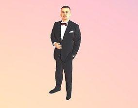 3D No82 - Tuxedo Man